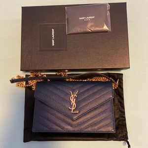 Brand new Saint Laurent WOC